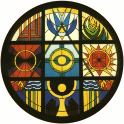 Stained Glass Round